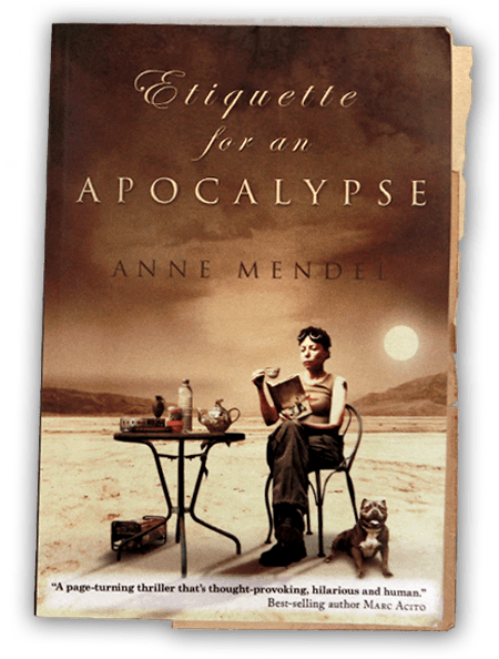 Etiquette for an Apocalypse front cover